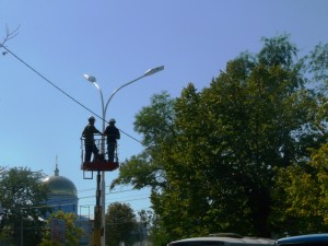 Измаил ждет полная реконструкция сетей уличного освещения