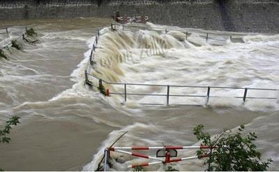 Большая вода дошла до Балкан: Дунай затапливает Хорватию