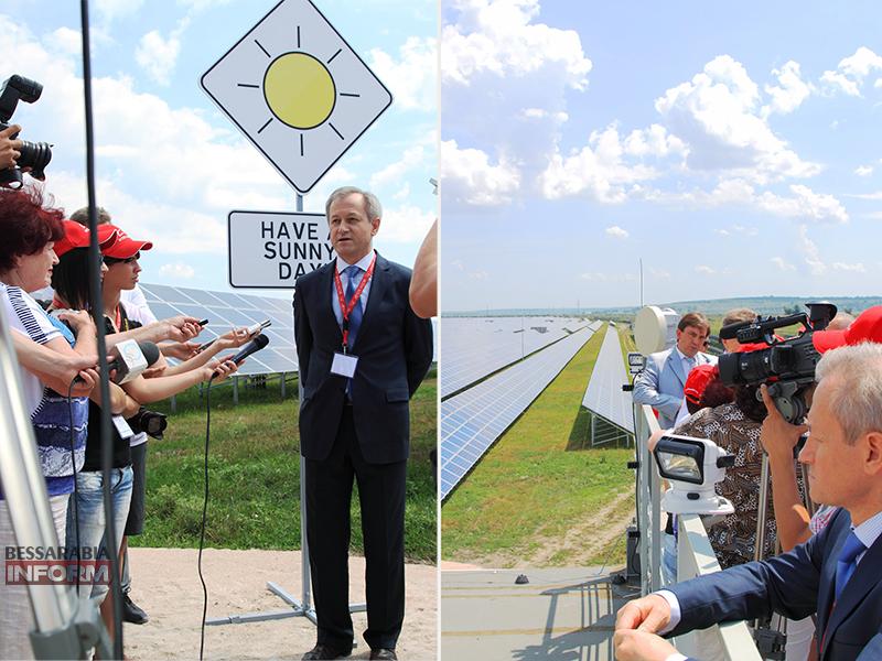 Бессарабия выходит на новый уровень: открыты 2 солнечные электростанции! (фото)