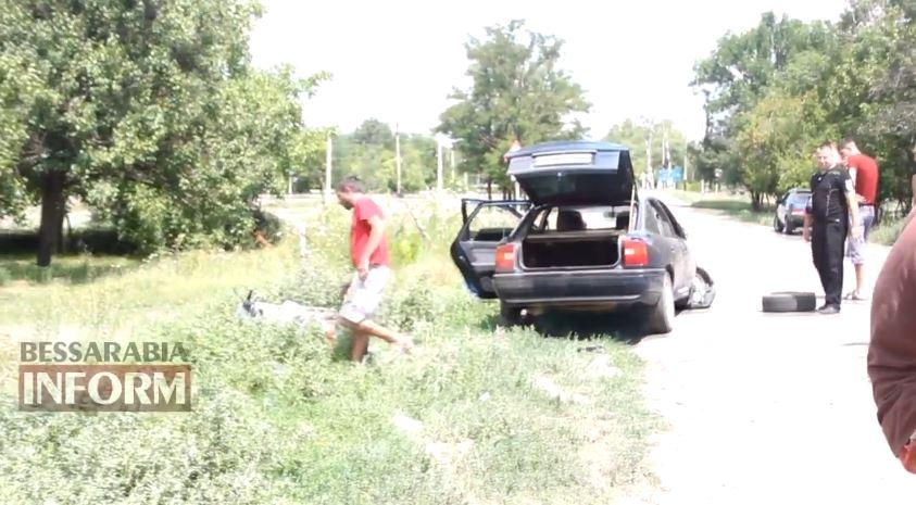 Измаил: нетрезвые на авто совершили двойное ДТП (ВИДЕО)