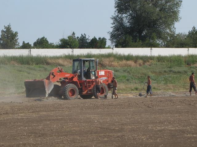 В Татарбунарах возобновлено строительство стадиона