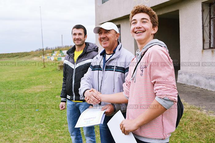 Школьники Измаильского района соревновались в беге (фото)