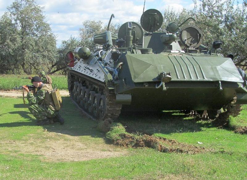 В Белгороде-Днестровском прошли военные учения (фото)