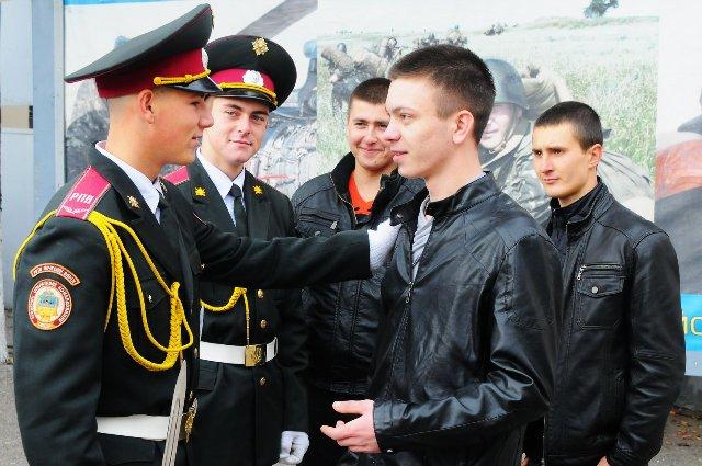 Призывники из Одесчины готовы защищать Украину (фото)