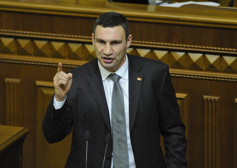 Рада приняла закон, из-за которого Кличко не сможет баллотироваться в президенты