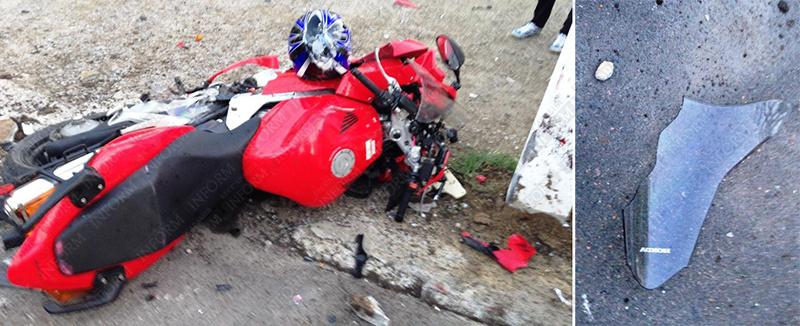moto dt izmail 11 Смертельное ДТП в Измаиле: столкнулись мотобайк Хонда и ВАЗ (фото, видео, обновлено)