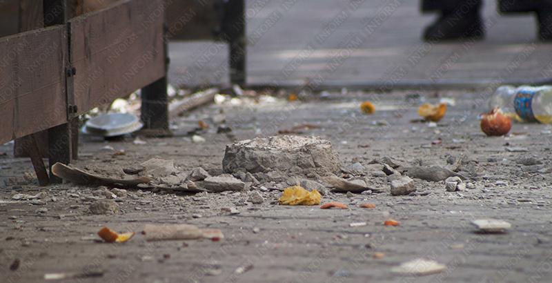 symasshedshaya v izmaile 2 6 Молодая девушка устроила погром в центре Измаила