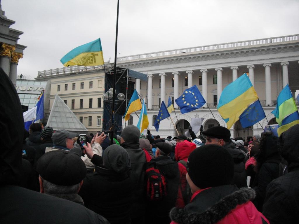 Евромайдан надежды... был... (фоторепортаж)
