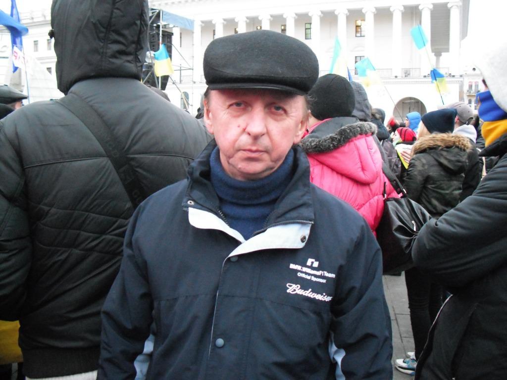 Измаильчане о сегодняшних событиях в Киеве