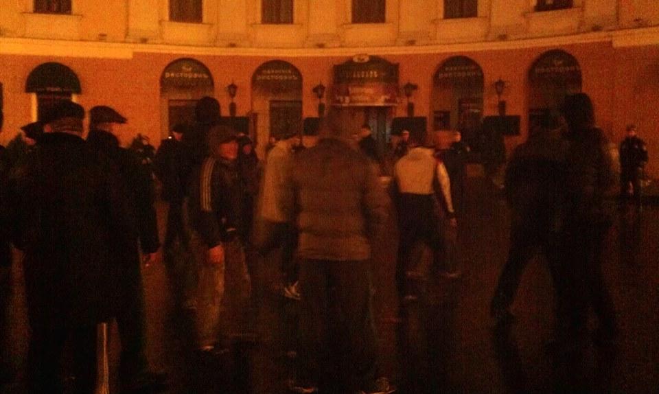 В Одессе милиция разогнала участников Евромайдана (фото)