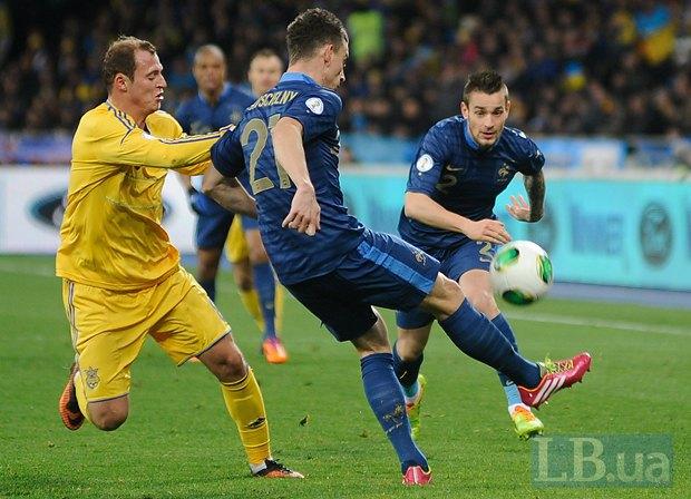 Украина не вышла на чемпионат мира по футболу-2014 (ФОТО)