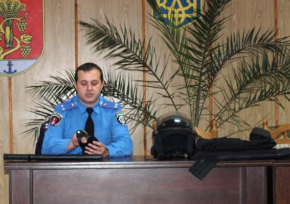 PM685image002 В Б.-Днестровской милиции провели экскурсию для детей