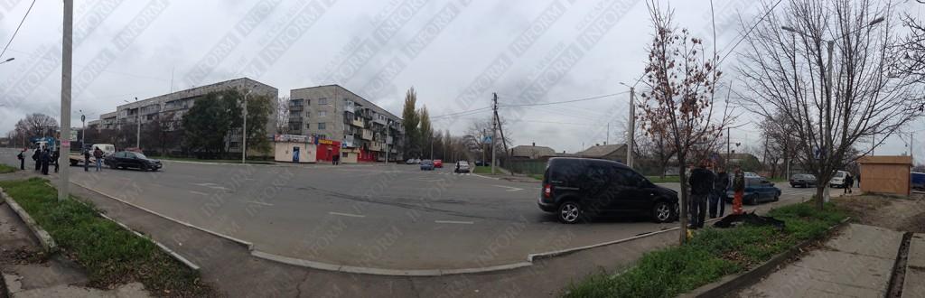 """В Измаиле """"Volkswagen"""" протаранил """"Lexus"""" (фото)"""
