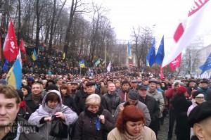 Наши измаильчане  на Евромайдане в Киеве