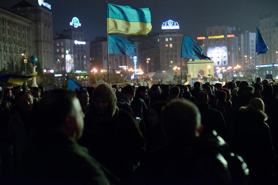 i-2 Украинцы объединяются через соцсети и выходят на Евромайдан (фото)