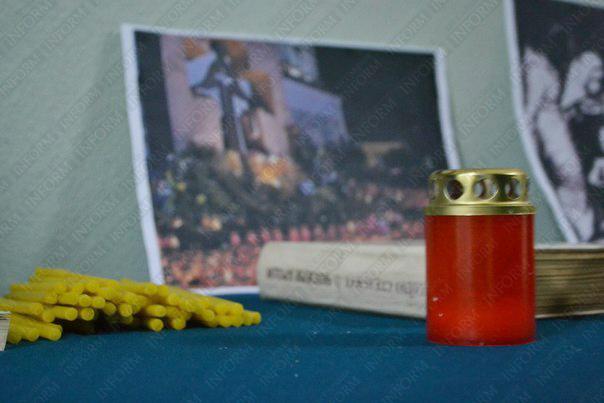 В Измаиле студенты зажгли свечи памяти (фото)