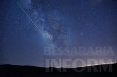Сегодня ночью можно будет увидеть метеоритный дождь