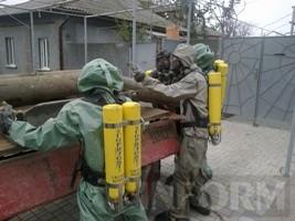 В Измаиле спасатели обнаружили три баллона с хлором
