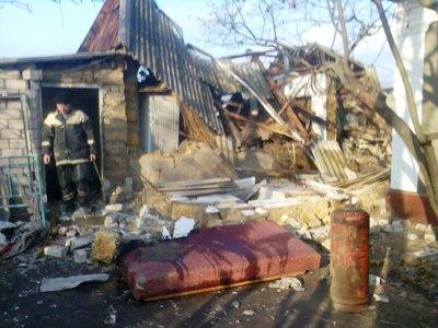 В Рени из-за утечки газа взорвался дом