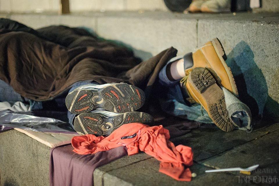 1452320_218126381701699_1270276183_n За полчаса до кровавого разгона студентов на Евромайдане (фото)