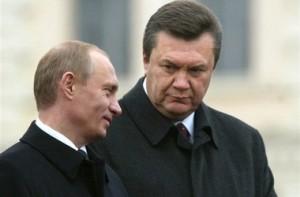 О чем договорились  Янукович с Путиным