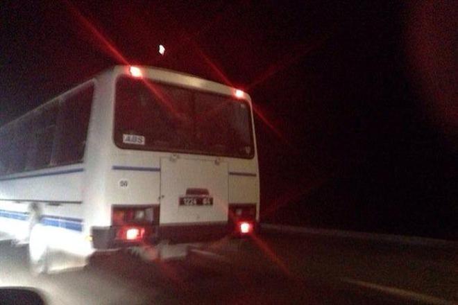 На Одесской трассе замечены автобусы с военными (фото)