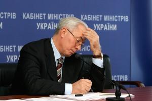 Президент принял отставку премьер-министра Азарова