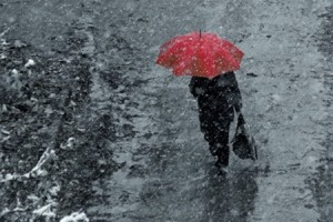 Завтра в Бессарабии ожидается мокрый снег с дождем