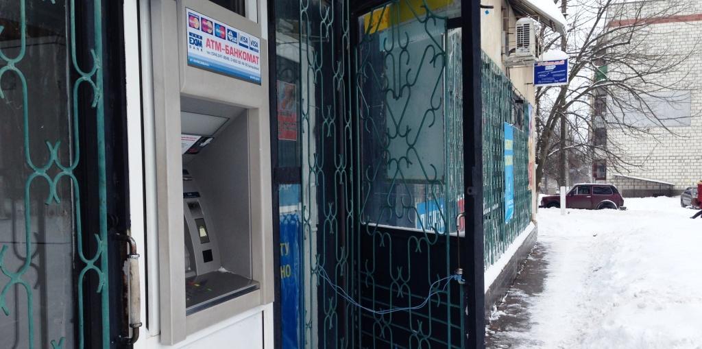В Измаиле обокрали банкомат «Укрэксимбанка» на 100 тыс. $
