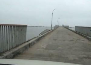 Сергеевский мост в критическом состоянии! Власть не реагирует? (ВИДЕО)