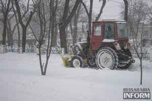 Завтра в Бессарабии снова ожидается сильный снег