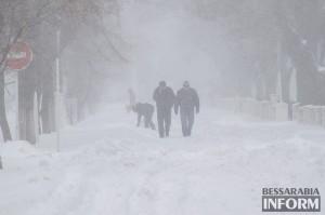 Завтра по всей Украине ожидаются сильные морозы и метели