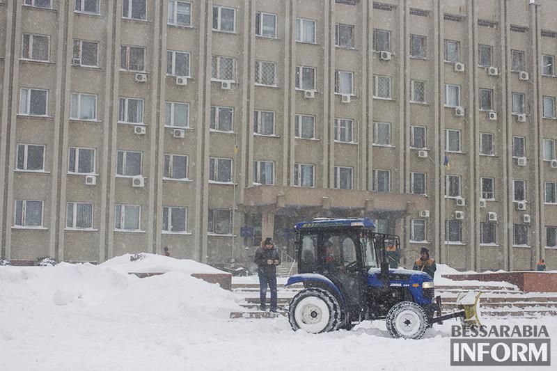 """Белый плен"" по-измаильски  (фото,видео)"