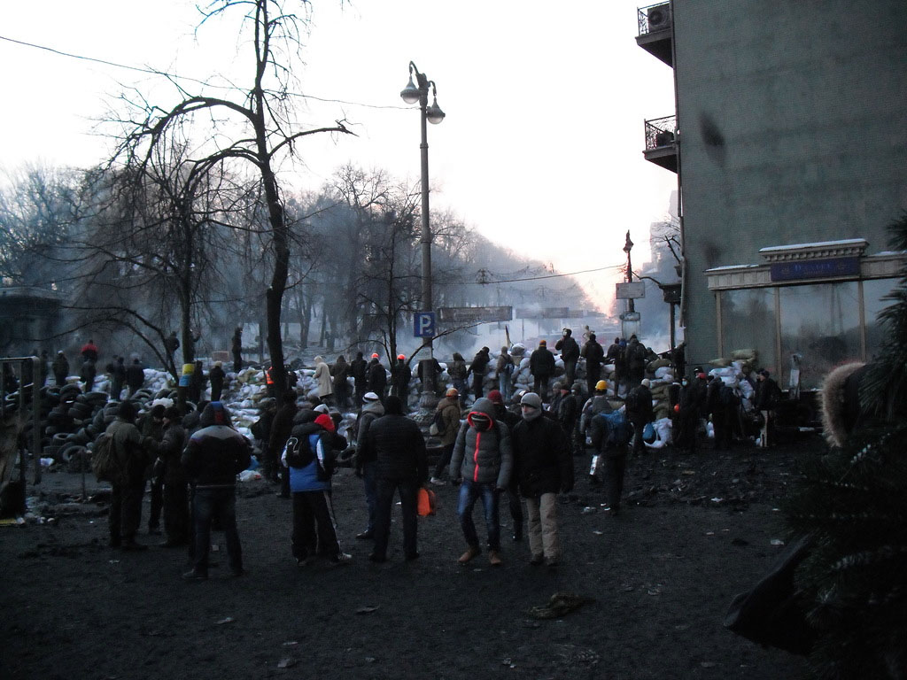 Впечатления измаильчанина. Киев: побывать на войне (фото)