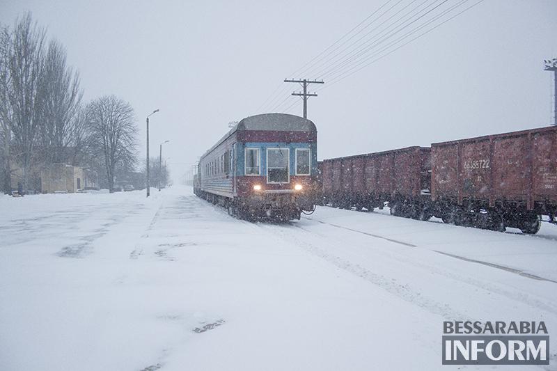 Снежная сказка в Измаиле (фоторепортаж)