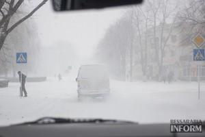 Завтра в Бессарабии ожидается сильный ветер и снег