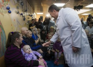 Покращення от Януковича - 4 гривны за детский обед