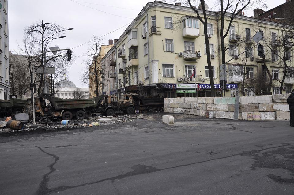 """Центр Киева после """"зачистки"""" (фоторепортаж)"""