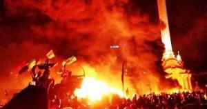 20 февраля в Украине день траура по погибшим в Киеве