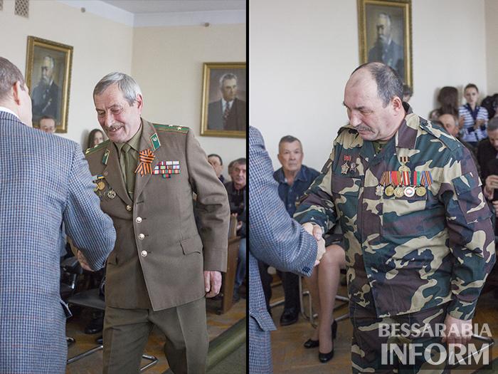 Заммэра Баткилин вручил медали воинам-афганцам (ФОТО)