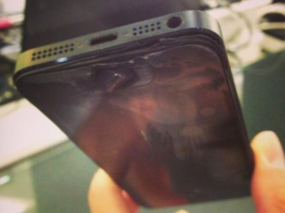 К вниманию владельцев iPhone! Осторожно, возможно возгорание!