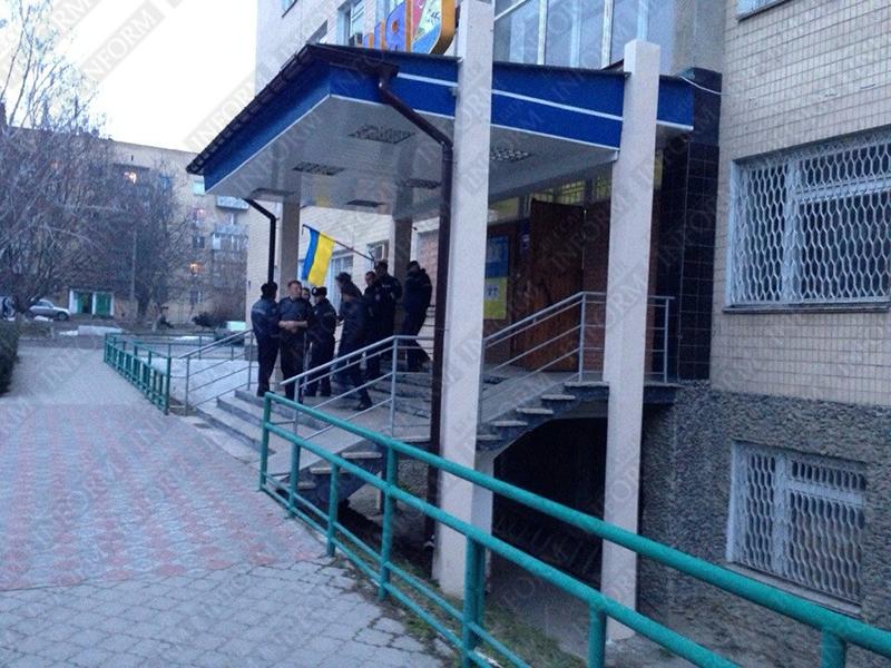 Измаил: автобус с милиционерами выехал в направлении Одессы (ФОТО)