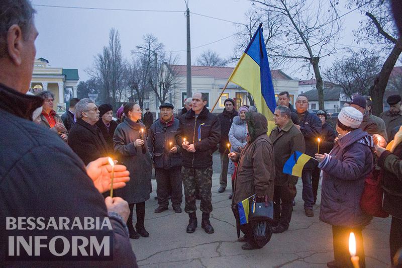 Измаильчане помянули погибших в Киеве (фото+видео)