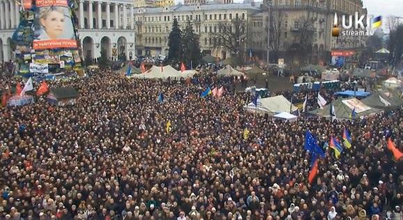 Народное вече собрало десятки тысяч человек
