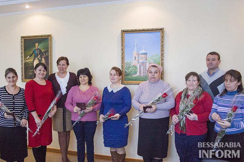 """Сегодня наградили """"матерей-героинь"""" Измаила (фото)"""