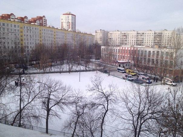 Московский старшеклассник убил учителя и охранника в школе (фото +видео)