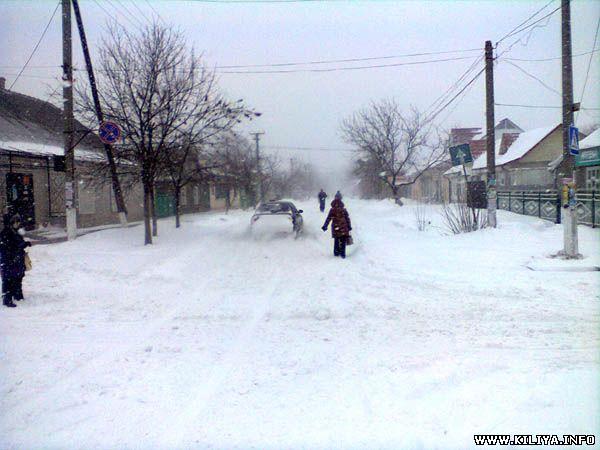 Килия и Вилково отрезаны от цивилизации (фото)