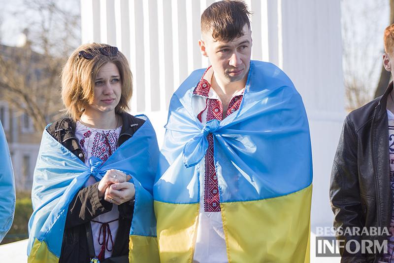 В Измаиле собралась патриотично настроенная молодежь (фото, видео)