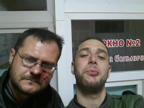 В Крыму жестоко избили журналистов (ВИДЕО)