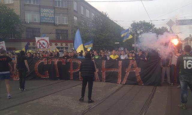 Харьков - это Украина. Ультрас выступили за единую Украину (видео)